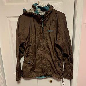 Marmot Brown Rain Jacket